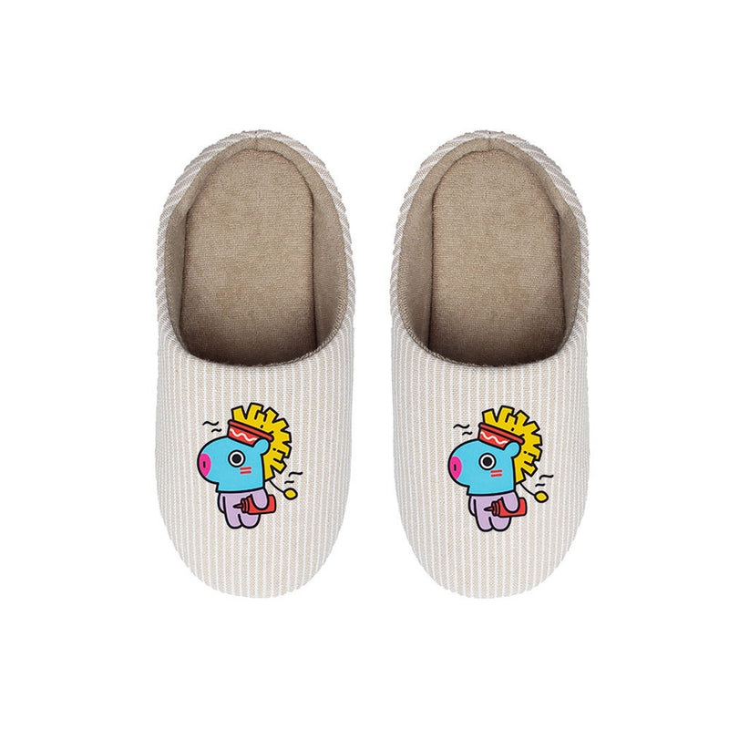 BT21 X Cotton slippers - BT21 Store | BTS Online Shop