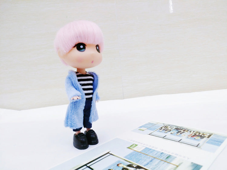 BTS Cartoon JiMin Hand-made Doll (13CM) - BT21 Store | BTS Online Shop