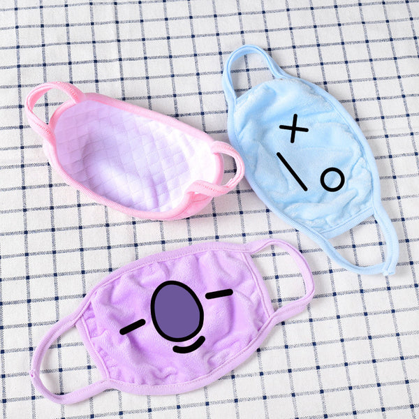 BT21 X Mouth Masks - BT21 Store | BTS Online Shop