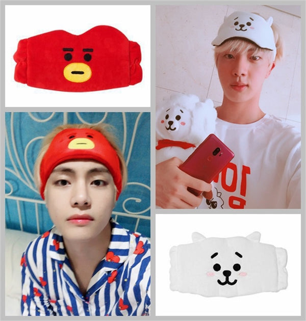 BT21 X FACE HEADBAND - BT21 Store | BTS Online Shop