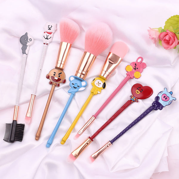 BT21 X Makeup Brushes - BT21 Store | BTS Online Shop