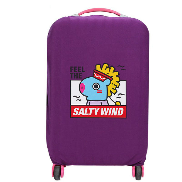 BT21 X Travel Suitcase Protective Cover - BT21 Store | BTS Online Shop