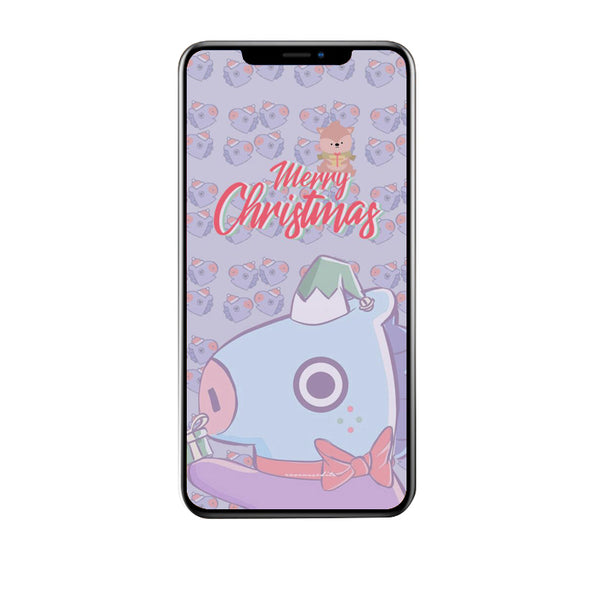 BT21 X Christmas LED Light Up iPhone Case - BT21 Store | BTS Online Shop