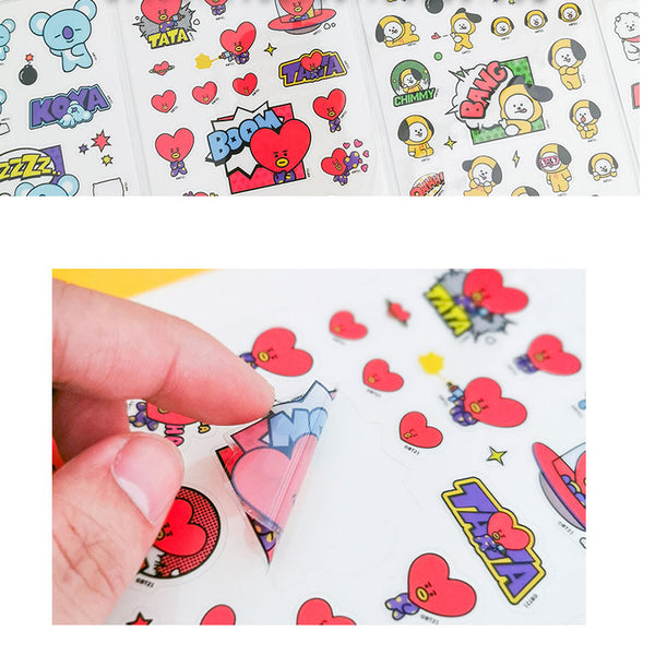 BT21 X  Stickers - BT21 Store | BTS Shop