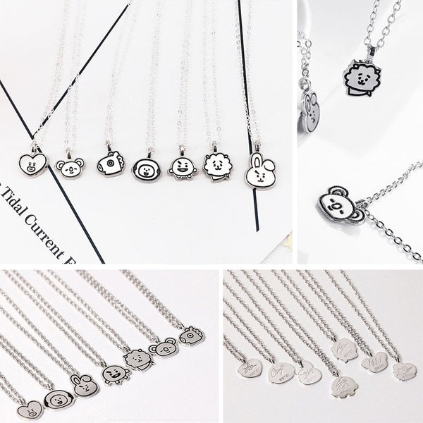 BT21 X  Silver Necklace - BT21 Store | BTS Online Shop