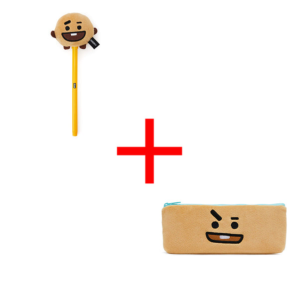 BT21 X SHOOKY Pencil Case&Pen - BT21 Store | BTS Online Shop