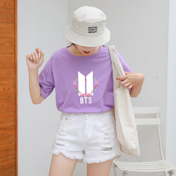 BTS Leisure T-Shirt - BT21 Store | BTS Online Shop