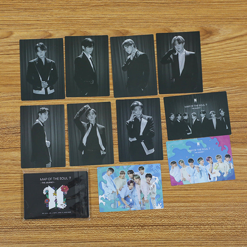 BTS 10 Sheets Map of The Soul 7 The Journey Card - BT21 Store | BTS Online Shop