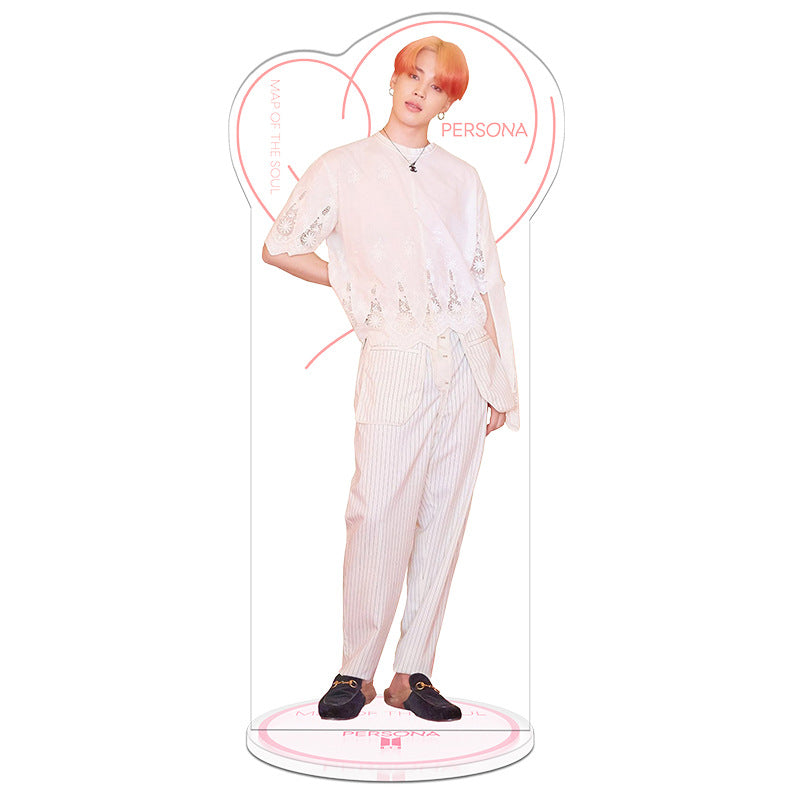BTS X Map Of The Soul 7 Standees Acrylic Display Doll - BT21 Store | BTS Online Shop