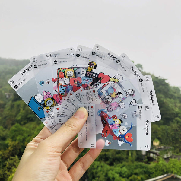 BTS BT21 X Instagram Cards - BT21 Store | BTS Shop