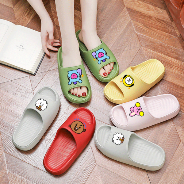 BT21 Soft Slippers - BT21 Store | BTS Online Shop