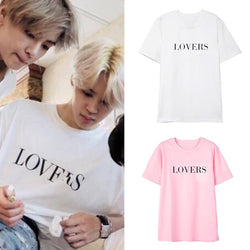 BTS Jimin LOVERS T-shirt - BT21 Store | BTS Shop