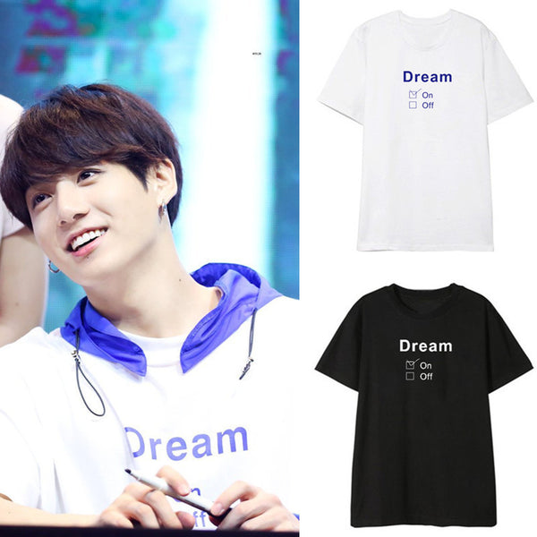 BTS JUNG KOOK  DREAM T-SHIRT - BT21 Store | BTS Online Shop