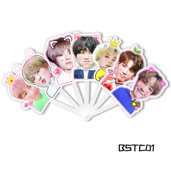 BTS X 7-PAGE FOLDING FAN - BT21 Store | BTS Online Shop