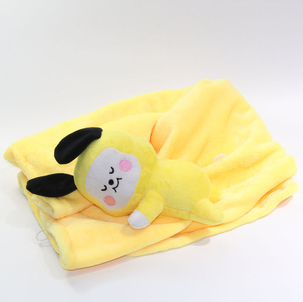 BT21 X TATA COOKY CHIMMY Doll&blanket - BT21 Store | BTS Shop