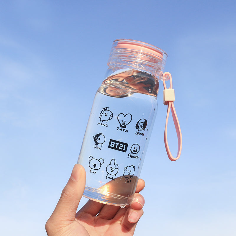 BT21 X Glass Hand Cup - BT21 Store | BTS Online Shop
