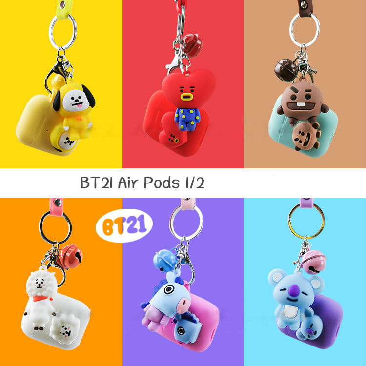 BT21 X Keychain AirPod Case - BT21 Store | BTS Shop