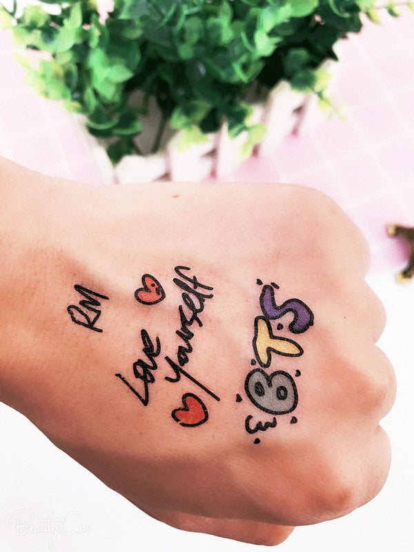 BTS X Tattoo stickers - BT21 Store | BTS Shop