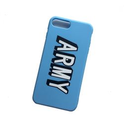 BT21 X ARMY Blue Phone Case - BT21 Store | BTS Shop