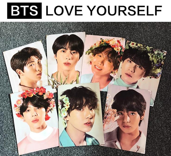 BTS X LOVE YOURSELF Photo frame - BT21 Store | BTS Online Shop