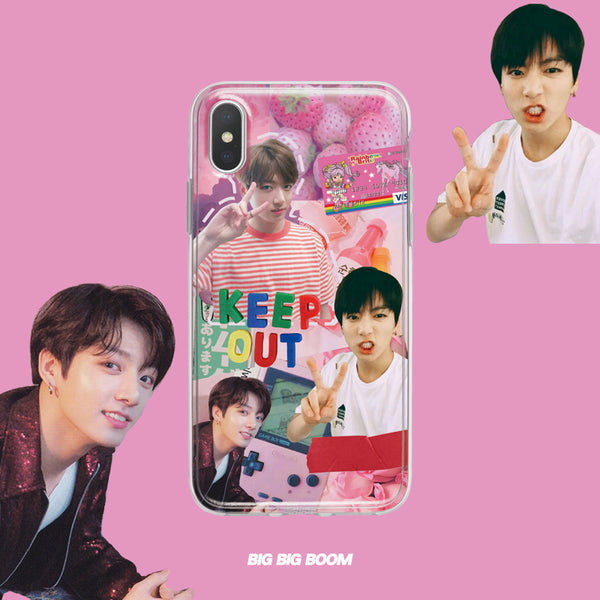 BTS X jungkook phone case - BT21 Store | BTS Shop