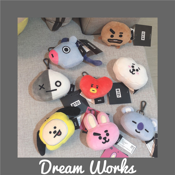 BT21 X Doll Keychain - BT21 Store | BTS Shop