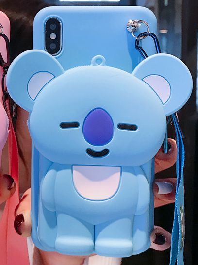 BT21 X COOKY KOYA Coin purse phone case - BT21 Store | BTS Online Shop
