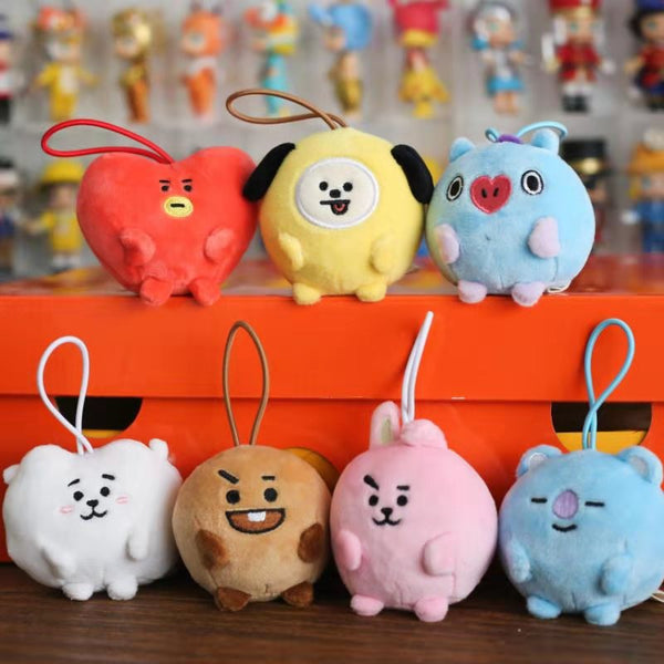BT21 X PONGPONG Mini Standing Doll