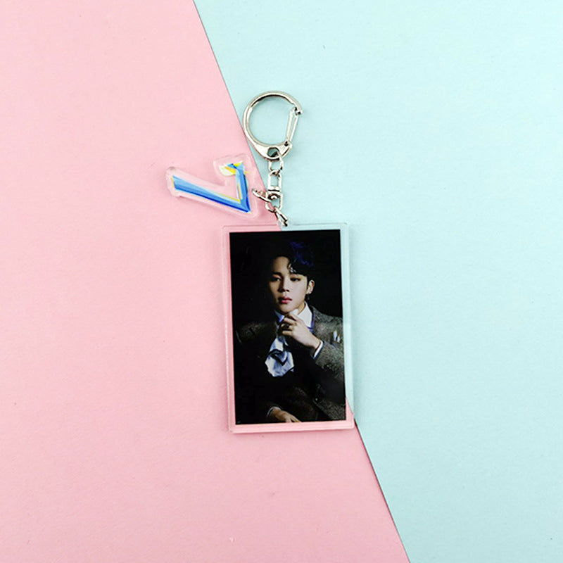 MAP OF THE SOUL 7 KEYCHAIN - BT21 Store | BTS Shop
