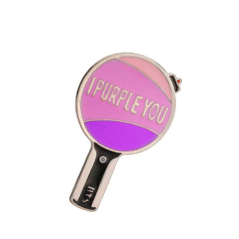 BTS 'I Purple You' Army Bomb Badge - BT21 Store | BTS Online Shop