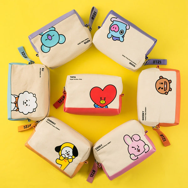 BT21 X Cosmetic bag - BT21 Store | BTS Shop