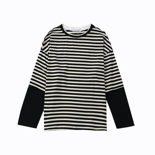 BTS Jimin B&W Striped shirt - BT21 Store | BTS Online Shop