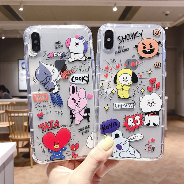 BT21 X iPhone Case