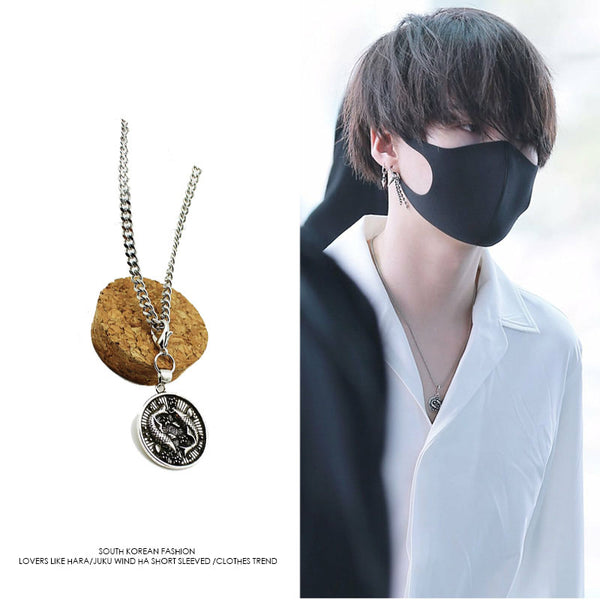 BTS X Suga necklace - BT21 Store | BTS Online Shop