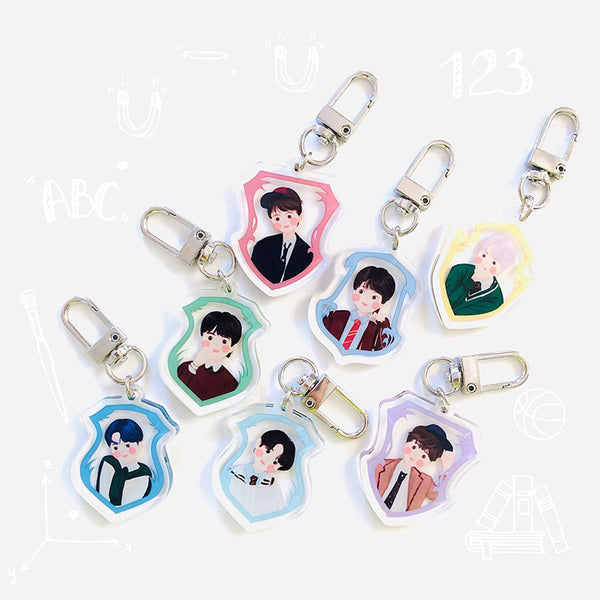 BTS X Map of the soul 7 keychain - BT21 Store | BTS Shop
