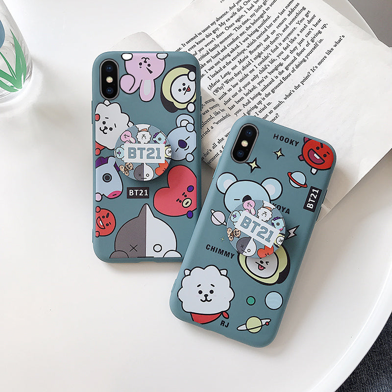 BT21 X Huawei iPhone Case + phone holder - BT21 Store | BTS Online Shop