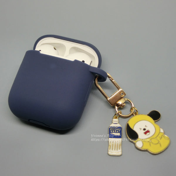 BT21 X  CHIMMY Keychain AirPods Case