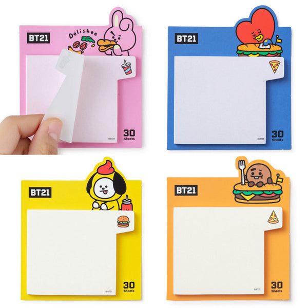 BT21 X  Sticky Notes - BT21 Store | BTS Online Shop