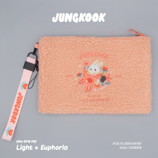 BTS X jungkook you are my light&euphoria clutch bag - BT21 Store | BTS Online Shop