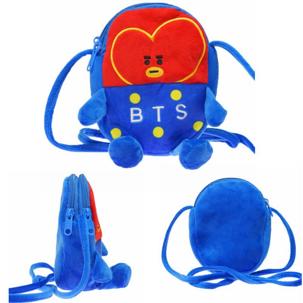 BT21 X Plush Crossbody Bag