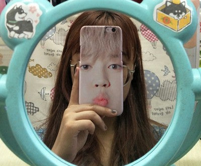 BT21 X CHIMMY Face Phone Case - BT21 Store | BTS Online Shop