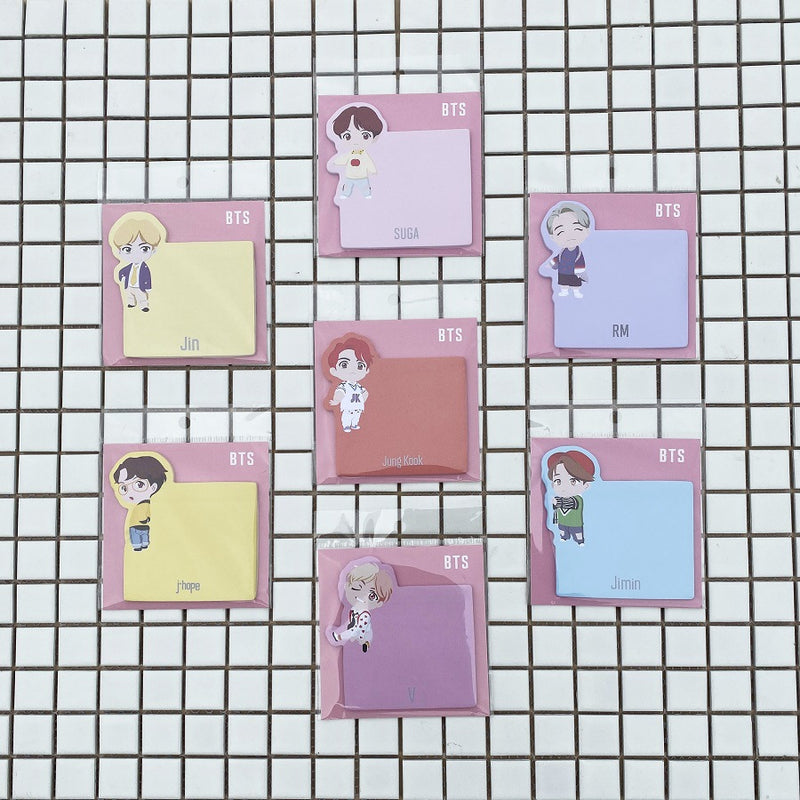 BTS X Sticky Notes - BT21 Store | BTS Shop