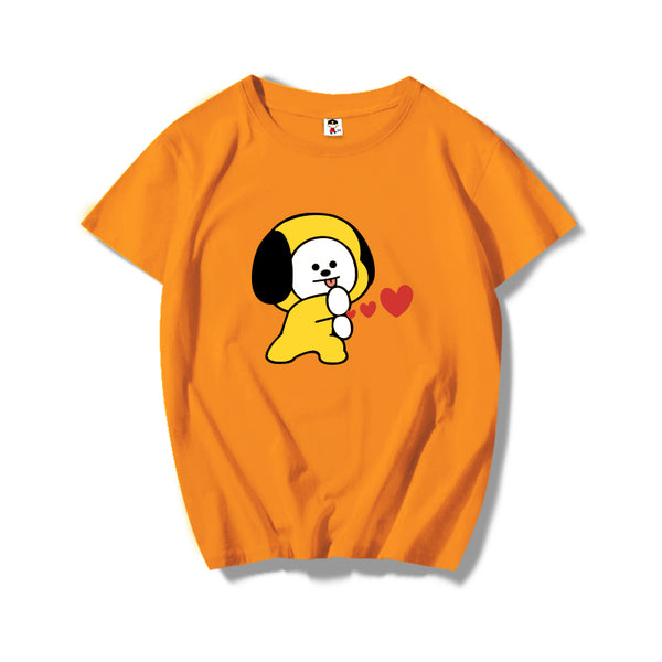BT21 X Chimmy T-Shirt - BT21 Store | BTS Online Shop