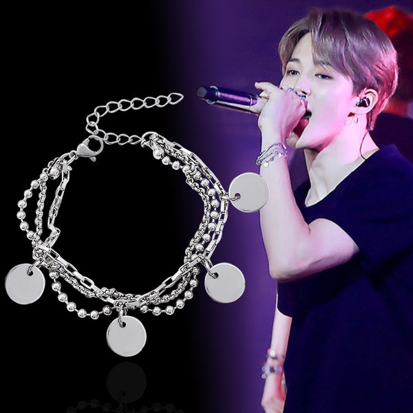 BTS X JIMIN multilayer bracelet - BT21 Store | BTS Online Shop