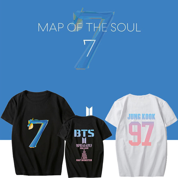 BT21 X Map Of The Soul: 7 T-Shirt - BT21 Store | BTS Online Shop