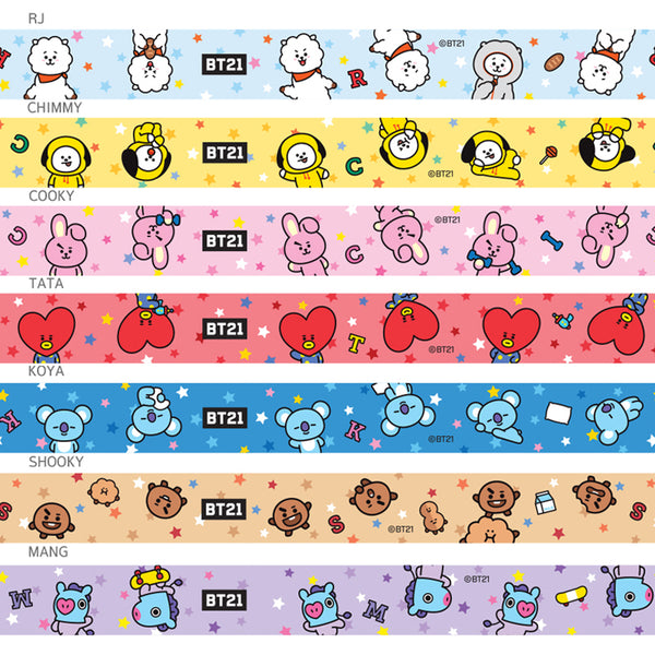 BT21 X Mobile Phone Straps - BT21 Store | BTS Online Shop