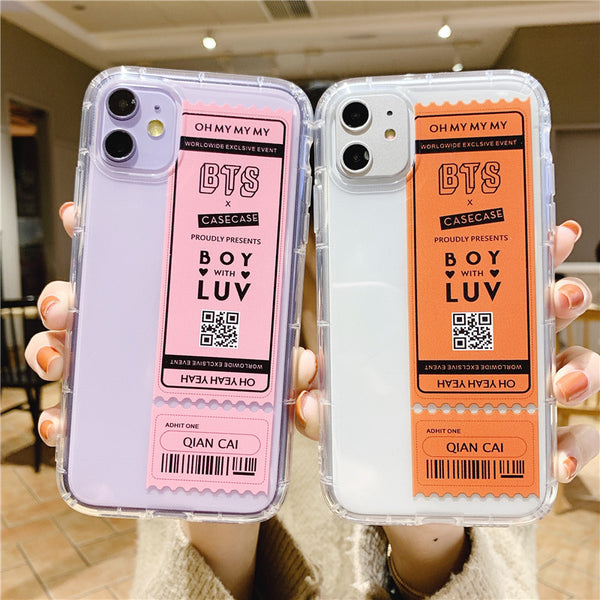 BTS X Boy with LUV Phone Case - BT21 Store | BTS Shop