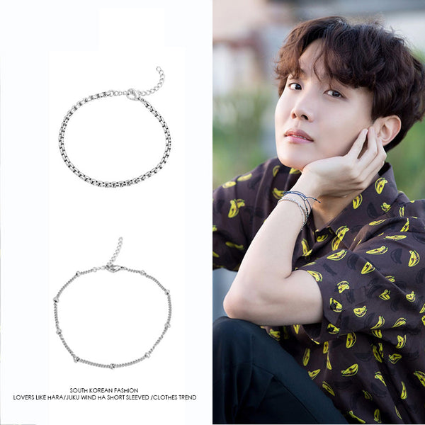 BTS J-hope 5th Debut Anniversary Fashion Bracelet - BT21 Store | BTS Online Shop