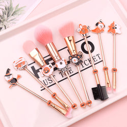 BT21 X  8PCS Halloween Makeup Brushes - BT21 Store | BTS Online Shop