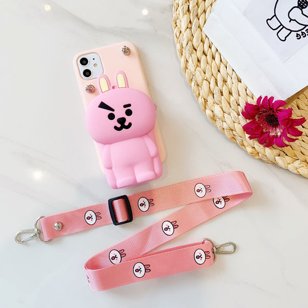 BT21 X COOKY Coin purse phone case - BT21 Store | BTS Online Shop